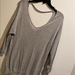 Express Grey Relaxed sweater